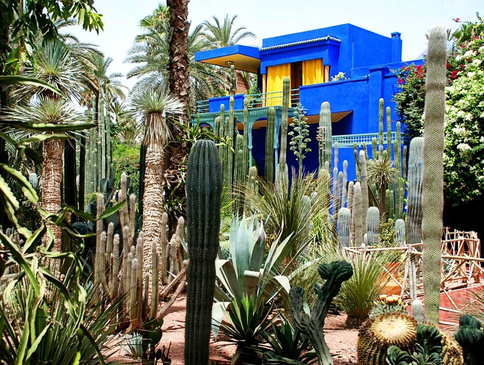 Jardin De Majorelle Thrifty Maroc Thrifty Maroc
